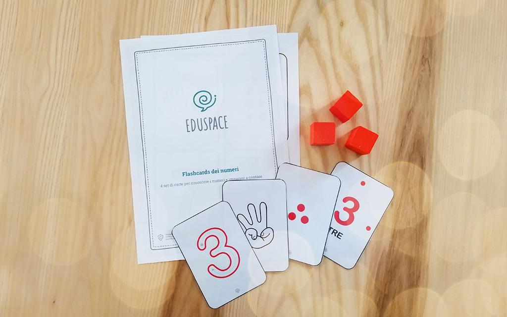 Flashcards dei numeri